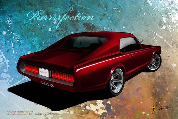 Digital Art - Purrrrfection by Doug Schramm
