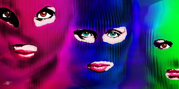 Painting - Pussy Riot by Tony Rubino