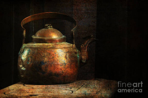 Photograph - Put The Kettle On by Lois Bryan