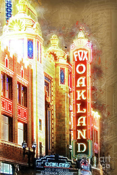 Photograph - Putting On The Ritz At The Oakland Fox Theatre 20161103 by Wingsdomain Art and Photography
