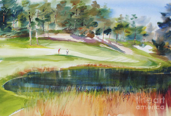Painting - Putting Pine Hills by P Anthony Visco