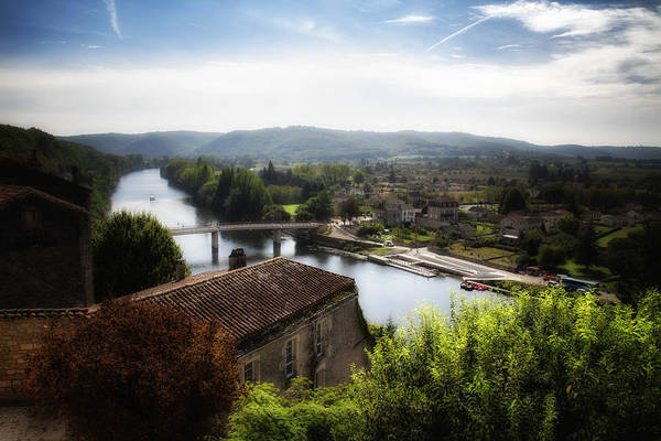 Photograph - Puy L'eveque River View by Georgia Fowler