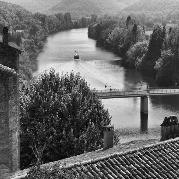 Photograph - Puy L'eveque River View - Square by Georgia Fowler