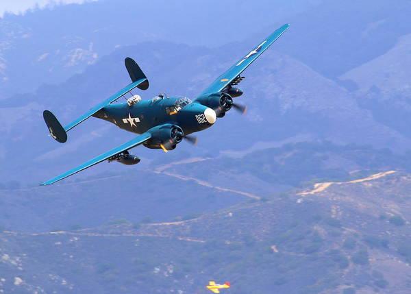 Photograph - Pv-2 Harpoon At Salinas by John King