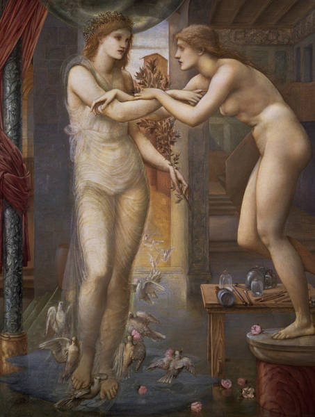 Painting - Pygmalion And The Image  by Edward Burne-Jones