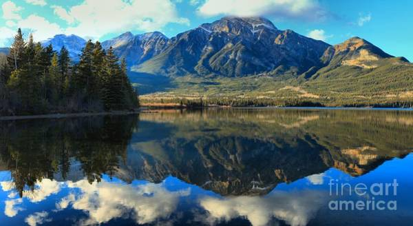 Photograph - Pyramid Lake Panorama by Adam Jewell