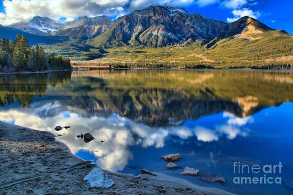 Photograph - Pyramid Lake Reflections by Adam Jewell