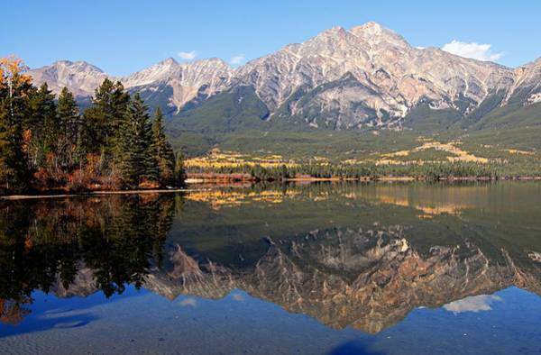 Photograph - Pyramid Mountain And Pyramid Lake 2 by Larry Ricker