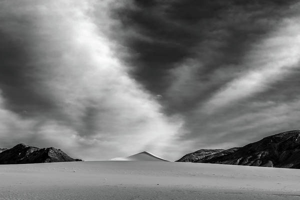 Death Valley Photograph - Pyramid by Peter Tellone