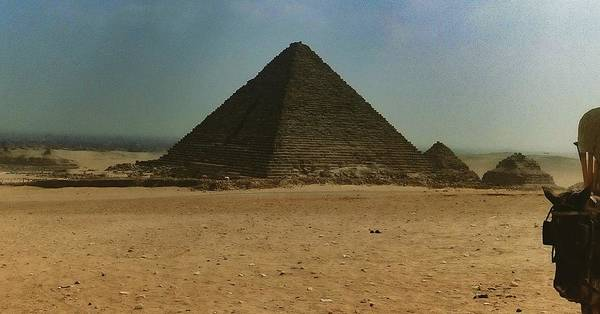 Photograph - Pyramids Of Egypt by Samuel Pye
