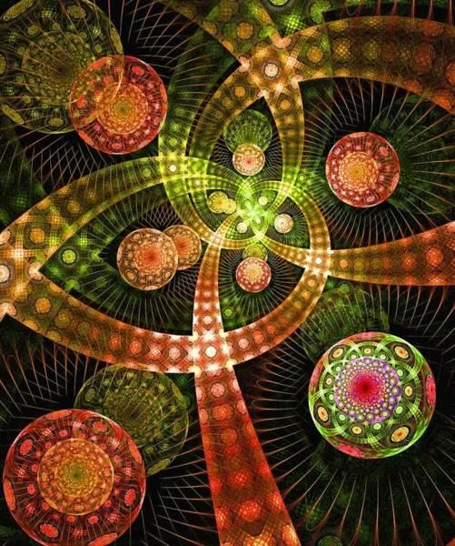 Digital Art - Pyrotechnics by Anastasiya Malakhova