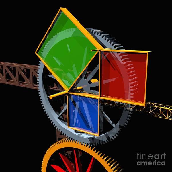 Pythagorean Machine Art Print