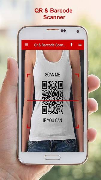Barcode Digital Art - Qr Barcode Scanner by AppTool Media