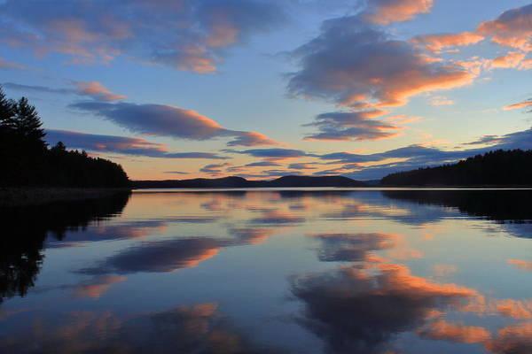Wall Art - Photograph - Quabbin Reservoir Sunset by John Burk