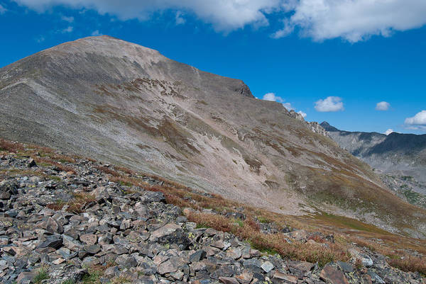 Fourteener Photograph - Quandary Peak by Cascade Colors