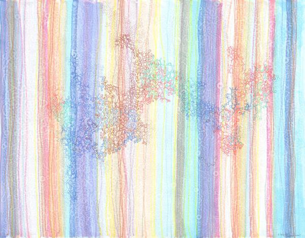 Quantum Physics Painting - Quantum Foam by Regina Valluzzi