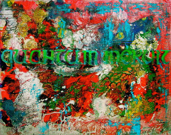 Wall Art - Painting - Quantum Meruit by Laura Pierre-Louis