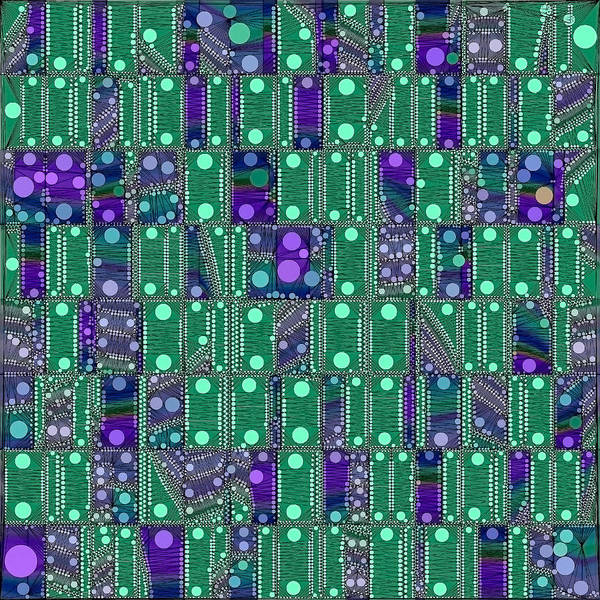 Digital Art - Quantum Motherboard by Susan Maxwell Schmidt
