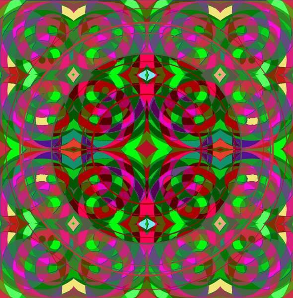 Digital Art - Quantum Portal B Opening by Julia Woodman
