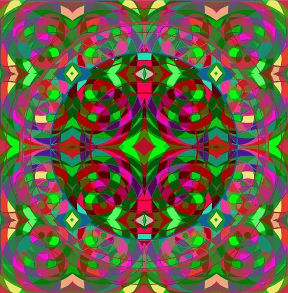Digital Art - Quantum Portal C Open by Julia Woodman