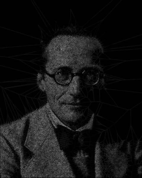 Digital Art - Quantum Theory Man by Stephane Poirier