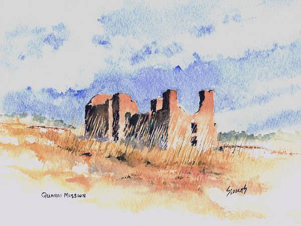 Painting - Quarari Mission by Sam Sidders