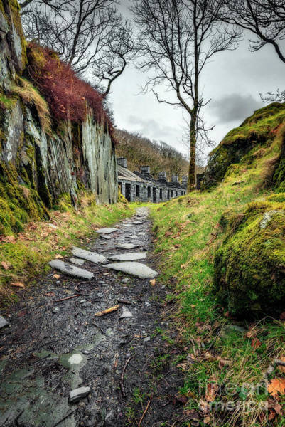 Photograph - Quarry Barracks Snowdonia by Adrian Evans