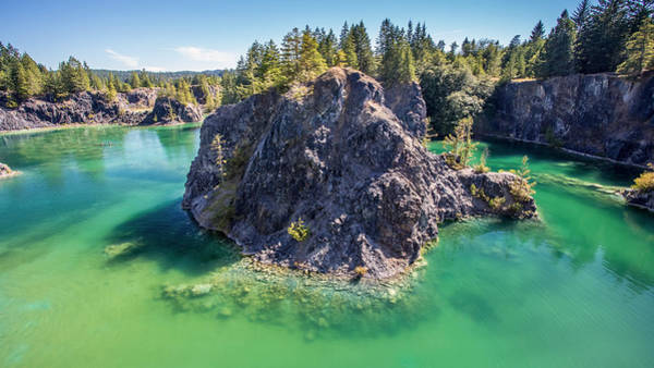 Photograph - Quarry Lake On Texada Island Bc by Pierre Leclerc Photography