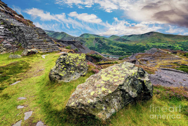 Wall Art - Photograph - Quarry Steps Snowdonia by Adrian Evans