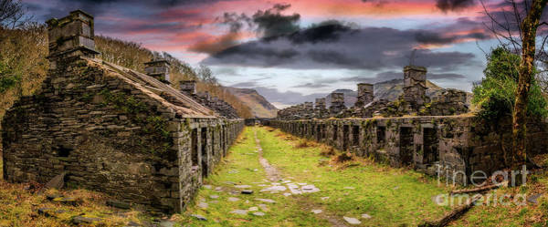 Wall Art - Photograph - Quarry Sunset Snowdonia by Adrian Evans