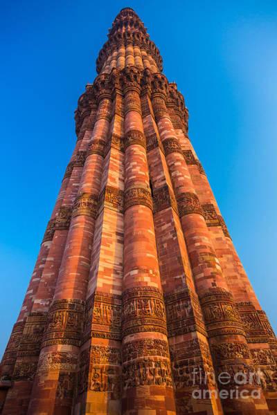 Photograph - Quatab Minar Tower by Inge Johnsson