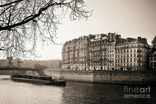 Wall Art - Photograph - Quays Of The Seine And Ile Saint-louis. Paris. France. Europe. by Bernard Jaubert