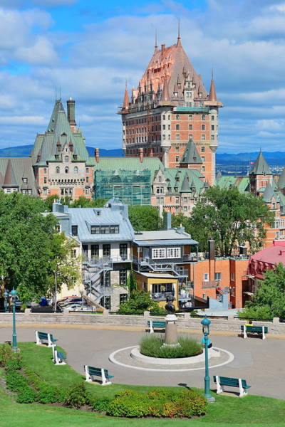 Wall Art - Photograph - Quebec City Cityscape  by Songquan Deng
