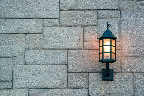 Photograph - Quebec City Street Lamp by Songquan Deng