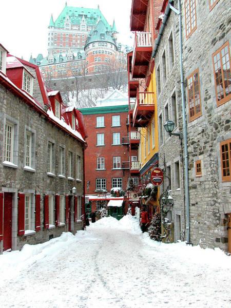 Photograph - Quebec City Winter by Thomas R Fletcher
