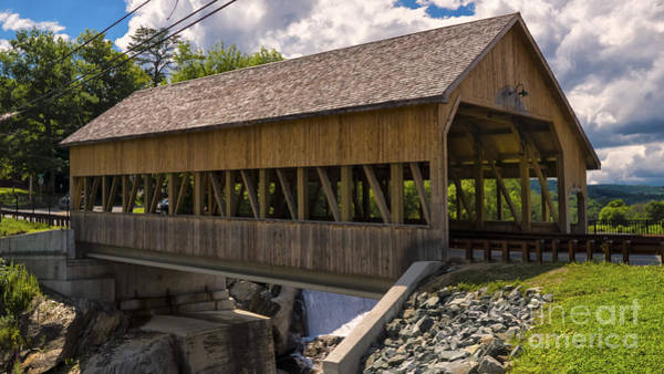 Photograph - Quechee Covered Bridge by Scenic Vermont Photography