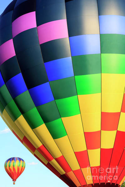 Photograph - Quechee Vermont Hot Air Balloon Fest 2 by Edward Fielding