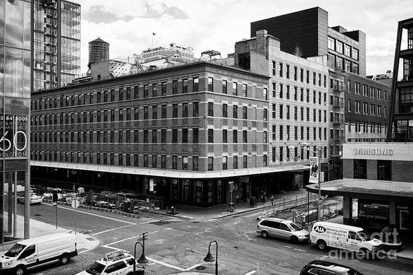 Queen Anne Style Photograph - queen anne style mercantile building on washington street meatpacking district New York City USA by Joe Fox