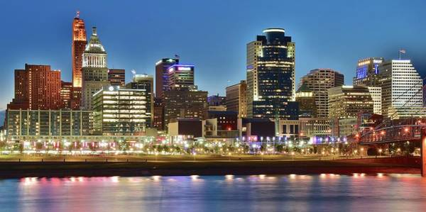 Wall Art - Photograph - Queen City Riverside Panorama by Frozen in Time Fine Art Photography