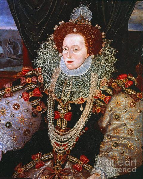 Photograph - Queen Elizabeth I, C1588 by Granger