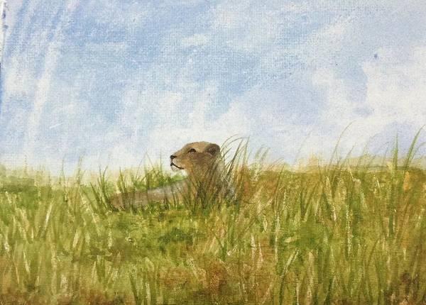 Painting - Queen by Elizabeth Mundaden