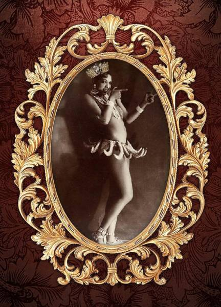 Josephine Baker Photograph - Queen Josephine  by Toniyia Young