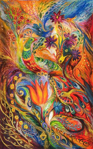 Chupah Wall Art - Painting - Queen Lillie by Elena Kotliarker