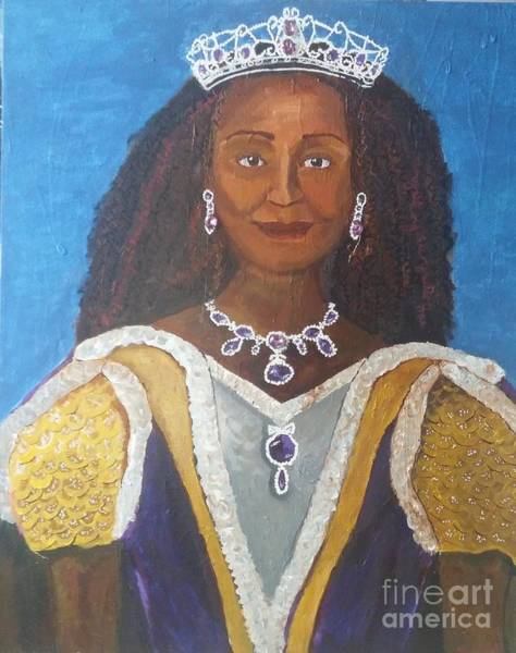 Painting - Queen Lynn by Jennylynd James