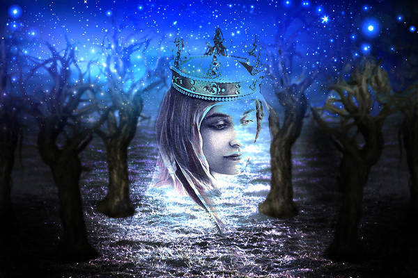 Arthurian Legend Digital Art - Queen Of Air And Darkness by Lisa Yount