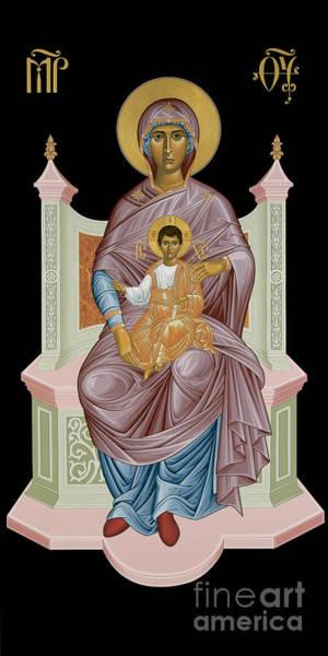 Painting - Queen Of Heaven - Rlqoh by Br Robert Lentz OFM