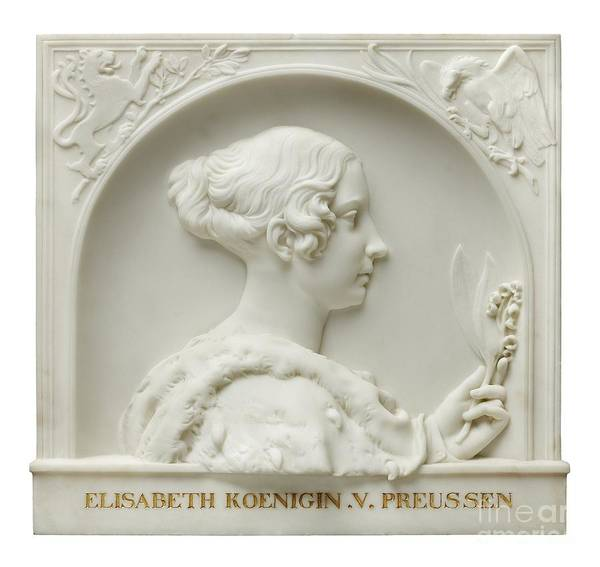 Rauch Wall Art - Painting - Queen Of Prussia by Celestial Images