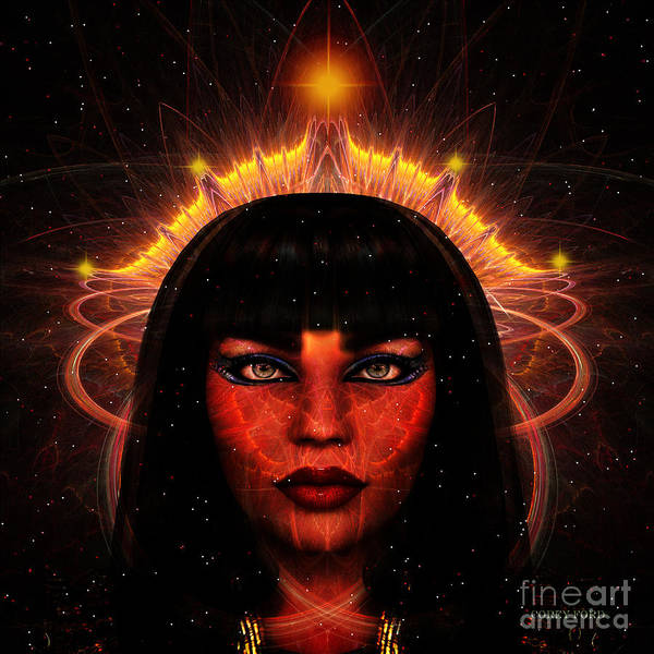 Endless Painting - Queen Of The Cosmos by Corey Ford