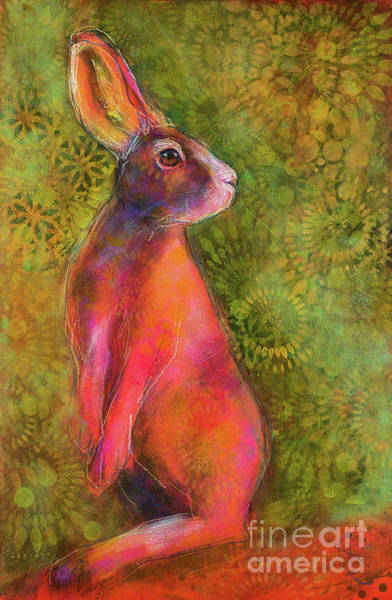 Rosemary Painting - Queen Of The Hares by Rosemary Conroy
