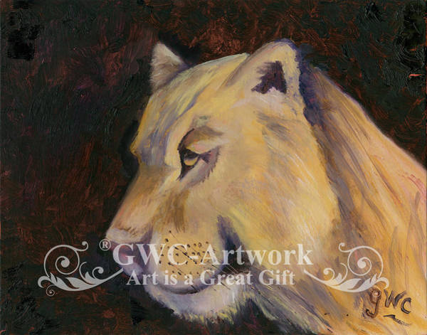 Wall Art - Painting - Queen Of The Jungle by Gloria Condon